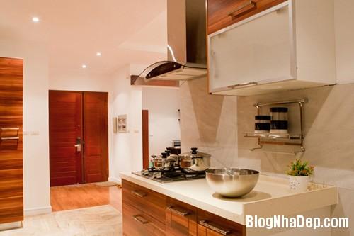 Bep02 3738 1395467077 Ngôi nhà hiện đại với nội thất đơn giản ở Hà Nội