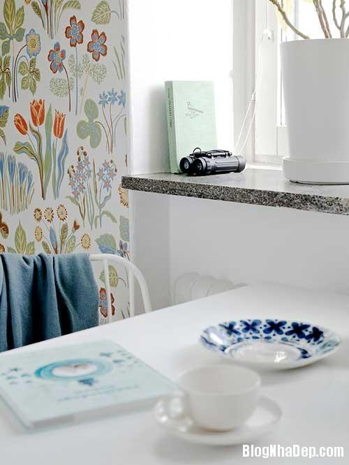Can ho Scandinavia tuyet dep 15 Căn hộ quyến rũ với phong cách Scandinavia và giấy dán tường