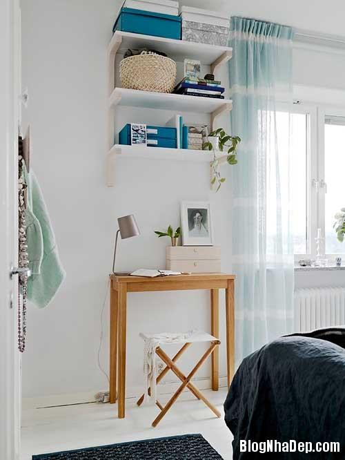 Can ho Scandinavia tuyet dep 18 Căn hộ quyến rũ với phong cách Scandinavia và giấy dán tường