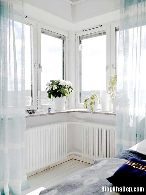 Can ho Scandinavia tuyet dep 5 Căn hộ quyến rũ với phong cách Scandinavia và giấy dán tường