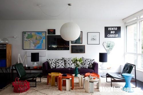 ImageHandler 008 Nét phá cách trong thiết kế căn hộ của kiến trúc sư