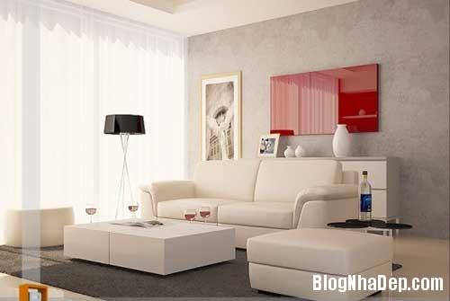 Khong gian ngay tho hoa lan dam me 1 Trang trí nội thất theo phong cách trắng và đỏ