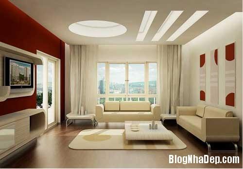 Khong gian ngay tho hoa lan dam me 2 Trang trí nội thất theo phong cách trắng và đỏ
