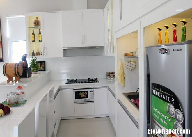 Khu bep don gian vua phai tiet kiem 1396926576 660x0 Thiết kế nội thất tiện nghi cho ngôi nhà cấp 4