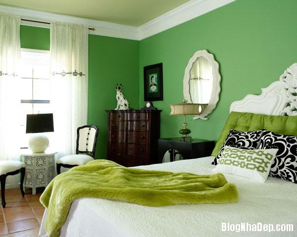 Mau xanh vo chanh truyen cam hung cho ngoi nha 1 5f092 Thư giãn trong ngôi nhà với gam màu xanh vỏ chanh