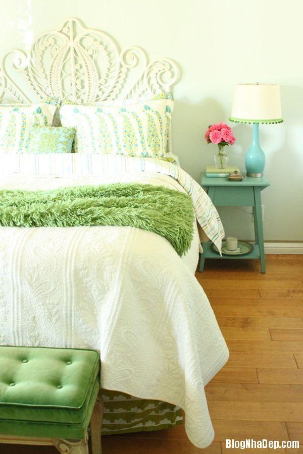 Mau xanh vo chanh truyen cam hung cho ngoi nha 10 5f092 Thư giãn trong ngôi nhà với gam màu xanh vỏ chanh