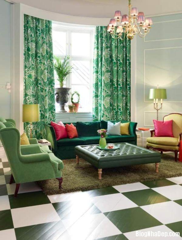 Mau xanh vo chanh truyen cam hung cho ngoi nha 5 5f092 Thư giãn trong ngôi nhà với gam màu xanh vỏ chanh