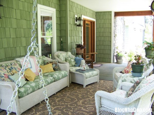 Mau xanh vo chanh truyen cam hung cho ngoi nha 8 5f092 Thư giãn trong ngôi nhà với gam màu xanh vỏ chanh