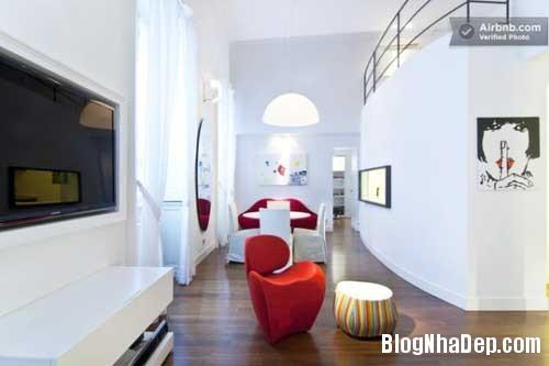 Nhung mau thiet ke can lotf dep tren the gioi 121 Những căn loft khá đẹp ở Paris Milan Berlin và London