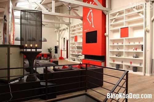 Nhung mau thiet ke can lotf dep tren the gioi 41 Những căn loft khá đẹp ở Paris Milan Berlin và London