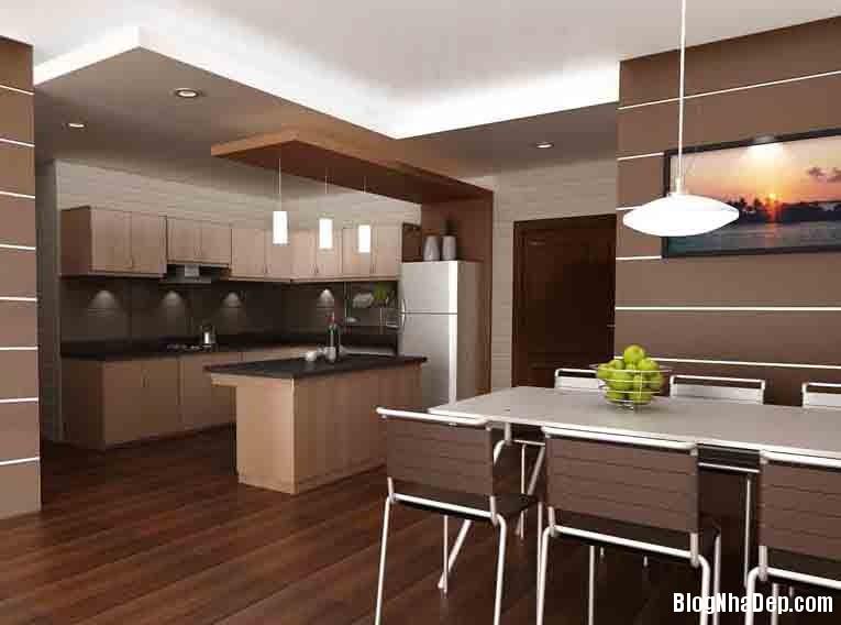 PHONG BEP Trang trí vật dụng phù hợp với không gian phòng bếp