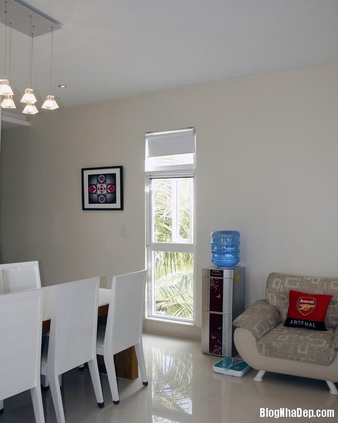 Phong an nhin ra khu vuon 1396926594 660x0 Thiết kế nội thất tiện nghi cho ngôi nhà cấp 4
