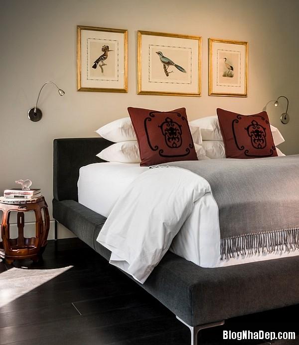 Phong cach trang tri noi that xuan he lay cam hung tu ch 003 Trang trí nhà với giấy dán tường họa tiết chim muông