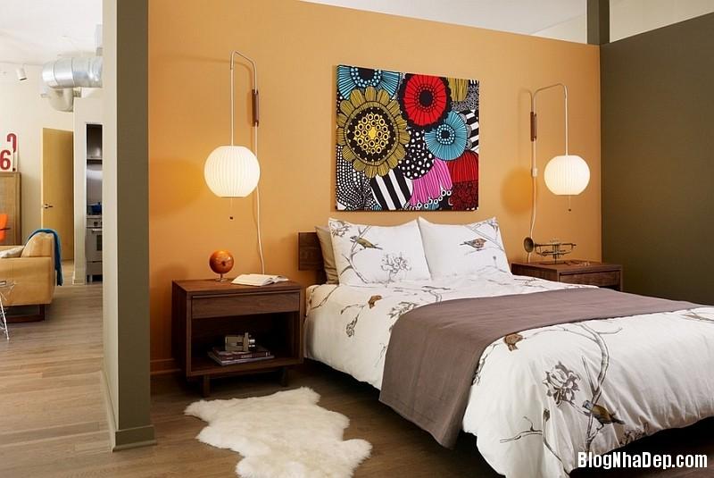 Phong cach trang tri noi that xuan he lay cam hung tu ch 005 Trang trí nhà với giấy dán tường họa tiết chim muông