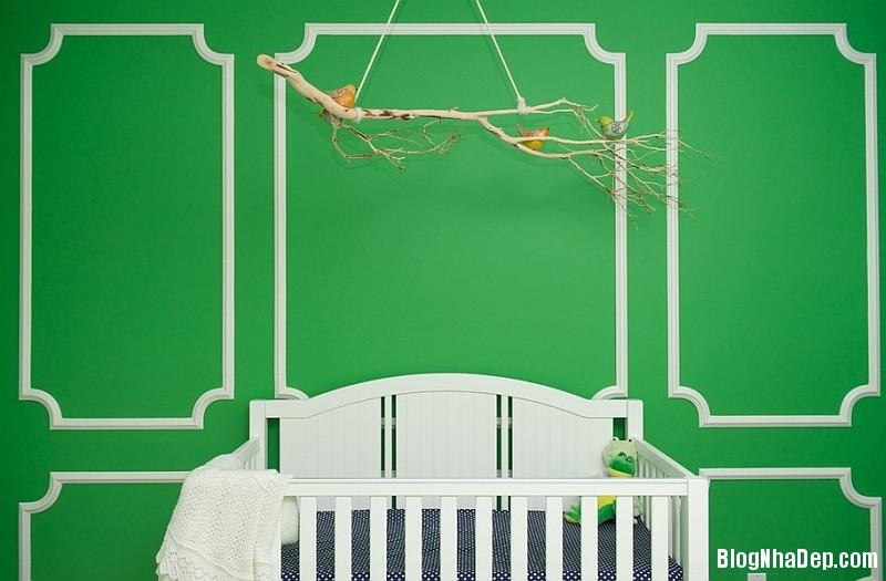 Phong cach trang tri noi that xuan he lay cam hung tu ch 009 Trang trí nhà với giấy dán tường họa tiết chim muông