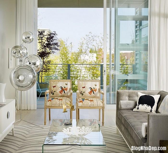 Phong cach trang tri noi that xuan he lay cam hung tu ch 012 Trang trí nhà với giấy dán tường họa tiết chim muông