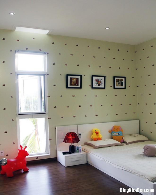 Phong ngu con gai 1396926596 660x0 Thiết kế nội thất tiện nghi cho ngôi nhà cấp 4