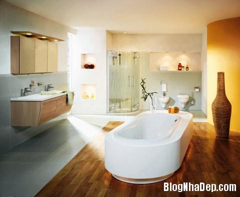 Phong tm thit k kiu Bc Au Phong cách thiết kế phòng tắm mang hơi thở Bắc Âu