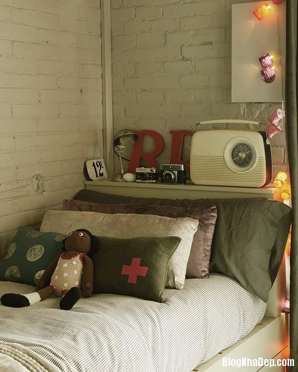 Sac hong trong phong cach Vintage 11 Ngôi nhà cổ điển với nội thất màu hồng