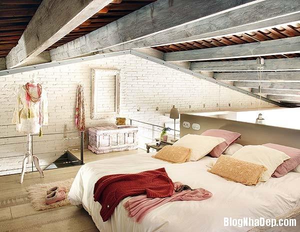 Sac hong trong phong cach Vintage 7 Ngôi nhà cổ điển với nội thất màu hồng