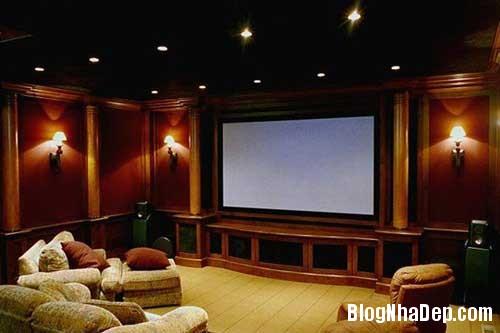 Thiet ke phong chieu phim trong nha 7 Thiết kế rạp chiếu phim thu nhỏ trong nhà