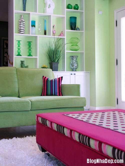 Trang tri nha voi sac mau co dien 6 Trang trí nội thất với tông màu truyền thống