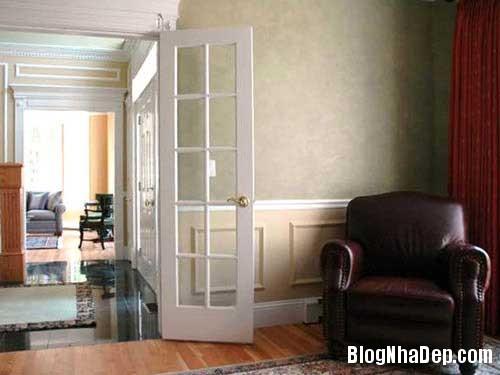 Trang tri nha voi sac mau co dien 8 Trang trí nội thất với tông màu truyền thống