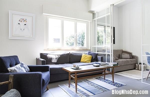 Trang tri noi that can ho nho mat mat voi gam mau trung tinh Sử dụng gam màu trung tính trong nội thất cho căn hộ nhỏ