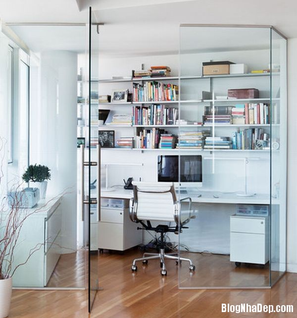a10 1395408811 Thiết kế văn phòng theo phong cách đơn giản