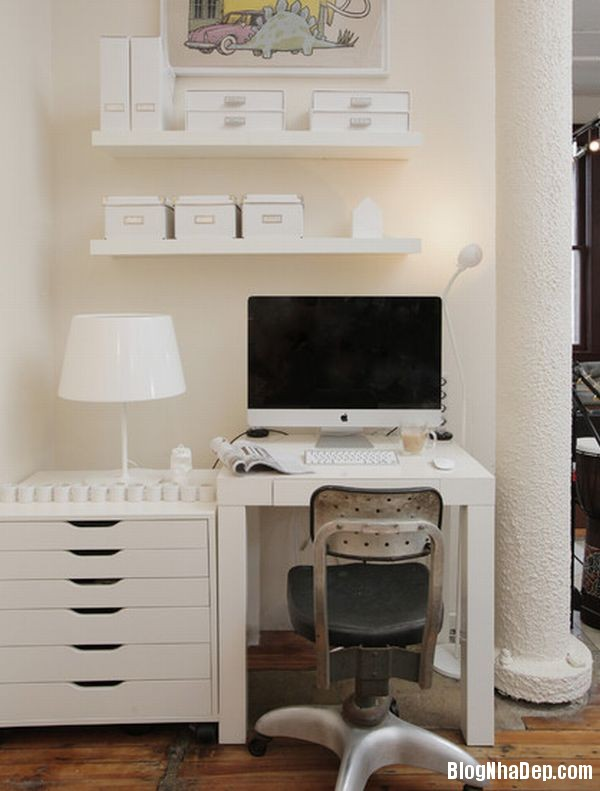a21 1395408962 Thiết kế văn phòng theo phong cách đơn giản