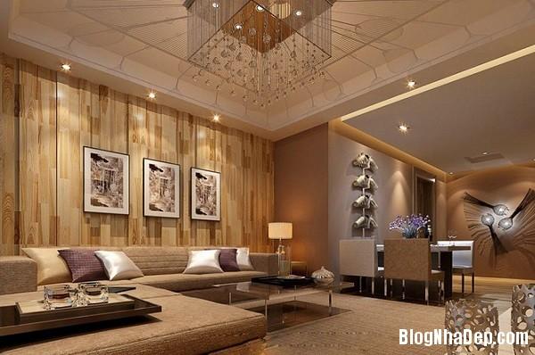 an tuong voi nhung bien tau thiet ke noi that dep bang go 3  Ngôi nhà ấm áp với nội thất chất liệu gỗ