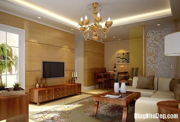 an tuong voi nhung bien tau thiet ke noi that dep bang go 5  Ngôi nhà ấm áp với nội thất chất liệu gỗ