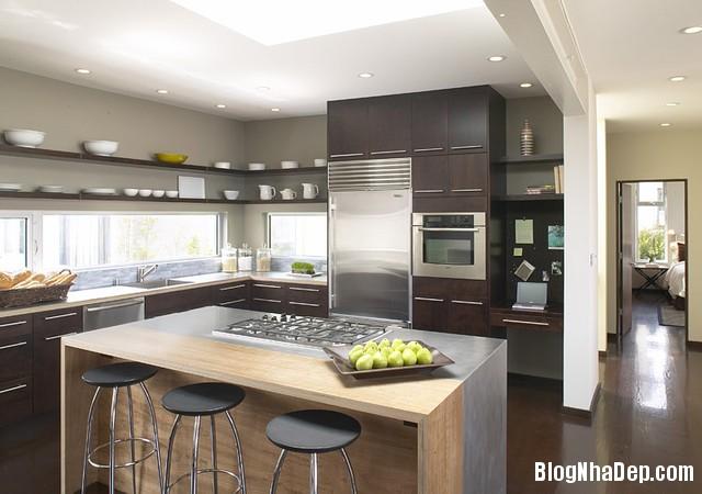 ban an Thiết kế không gian bếp đẹp cho nhà bạn