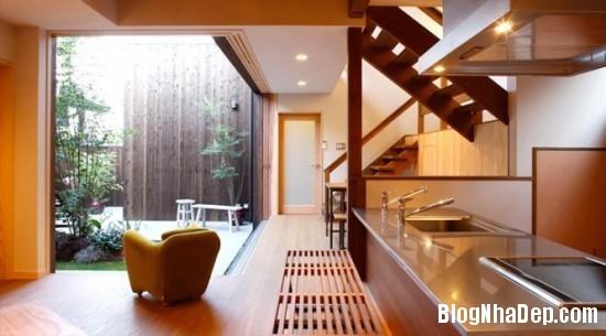 bep 1 Thiết kế phòng bếp theo phong cách Nhật