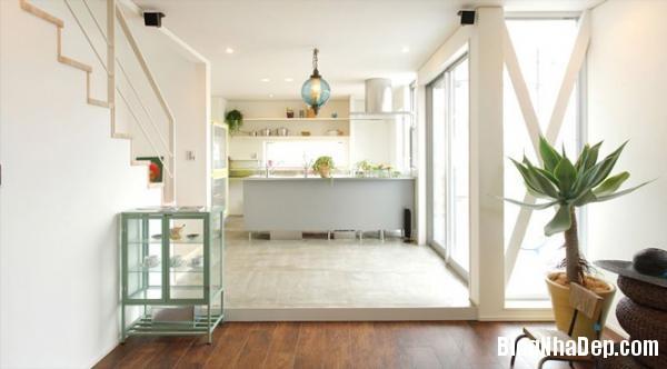 bep 4 Thiết kế phòng bếp theo phong cách Nhật