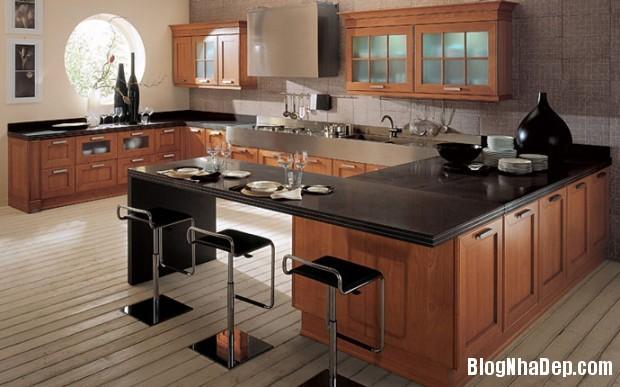 bep go Thiết kế không gian bếp đẹp cho nhà bạn
