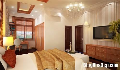 bo tri noi that phong cach moc 2363 5307 1403675654 Trang trí nội thất theo phong cách mộc cổ diển