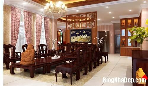 bo tri noi that phong cach moc 6731 5032 1403675652 Trang trí nội thất theo phong cách mộc cổ diển