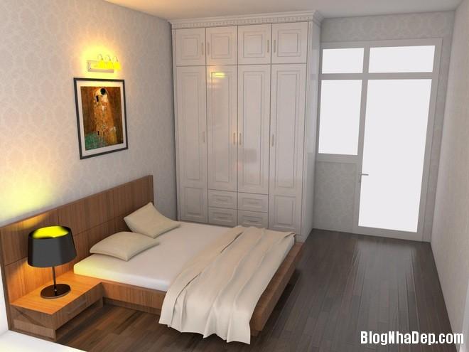 can ho 35m2 7 1401784898 660x0 Bài trì nội thất tiện nghi trong căn hộ nhỏ với chi phí vừa phải