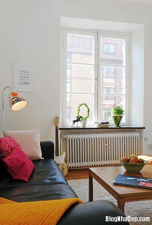 can ho dep va duyen dang voi 50m2 b790 Căn hộ 50m2 phong cách Scandinavia ở Gothenburg, Thụy Điển