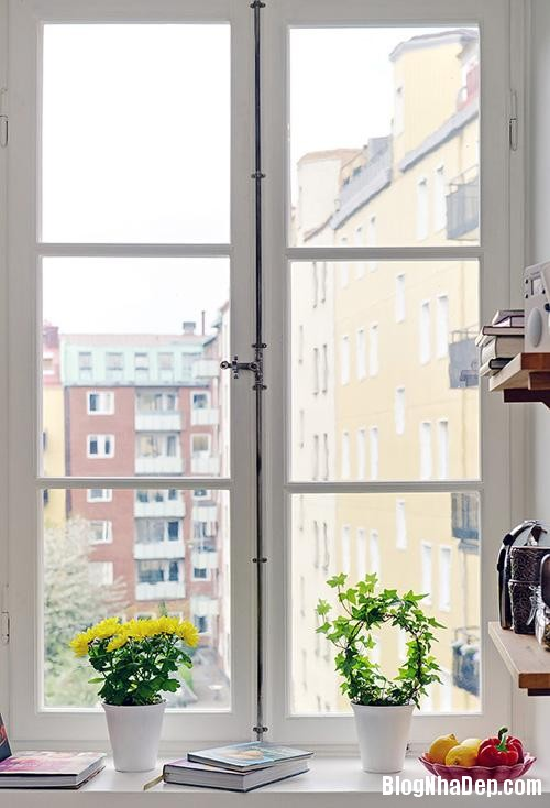 can ho dep va duyen dang voi 50m2 c87c Căn hộ 50m2 phong cách Scandinavia ở Gothenburg, Thụy Điển
