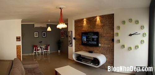 can ho sang tao o tel aviv israel 6f08 Thiết kế sáng tạo trong căn hộ ở Israel