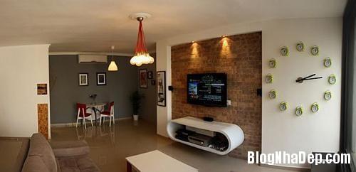 can ho sang tao o tel aviv israel 6f081 Thiết kế sáng tạo trong căn hộ ở Israel