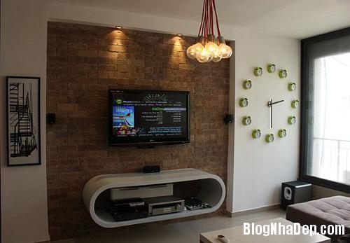 can ho sang tao o tel aviv israel 883d Thiết kế sáng tạo trong căn hộ ở Israel