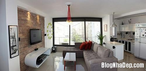 can ho sang tao o tel aviv israel ccb2 Thiết kế sáng tạo trong căn hộ ở Israel