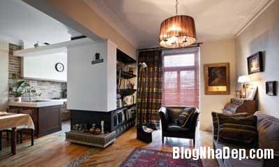 chung cu xinh 2 Phong cách cổ điển kết hợp hiện đại cho chung cư 70m2