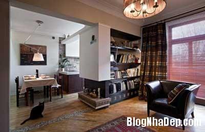 chung cu xinh 31 Phong cách cổ điển kết hợp hiện đại cho chung cư 70m2