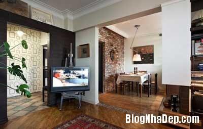 chung cu xinh 4 Phong cách cổ điển kết hợp hiện đại cho chung cư 70m2