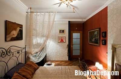 chung cu xinh 7 Phong cách cổ điển kết hợp hiện đại cho chung cư 70m2