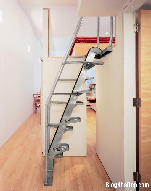 cost effective loft stair Những mẫu cầu thang tiết kiệm diện tích cho nhà nhỏ